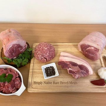 pork selection meat box