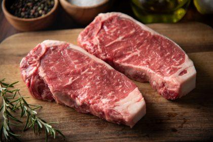 Rare breeds steak meat box